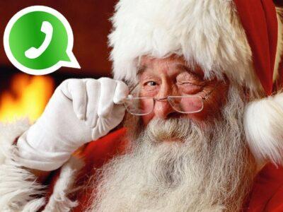 Brand New: Babbo Natale incastrato da una conversazione su WhatsApp