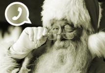 Babbo Natale su WhatsApp