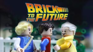back to the future by lego