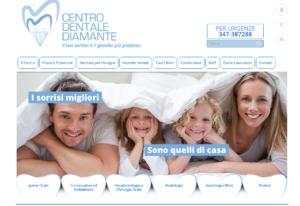 sito web centro dentale diamante rimini