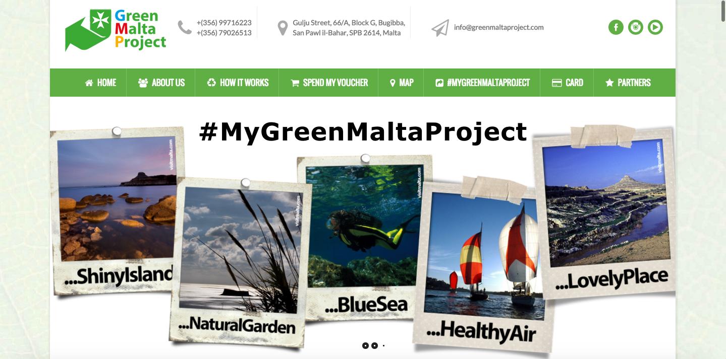 sito web green malta project