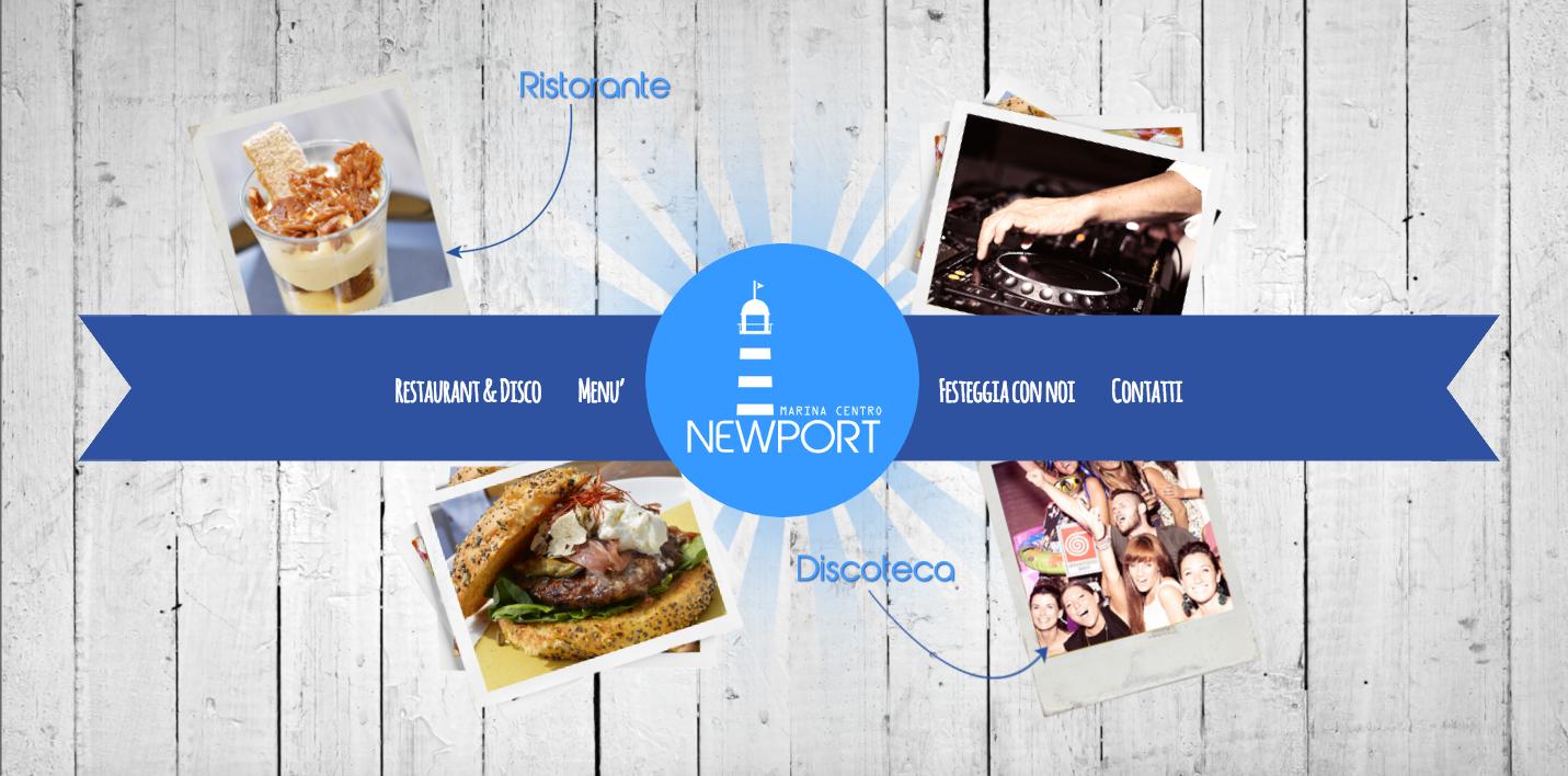 sito web newport rimini marina centro