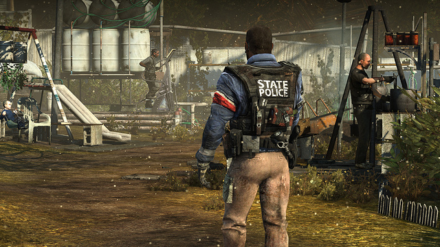 Uno screenshot dallo sparatutto militare per Playstation Homefront.
