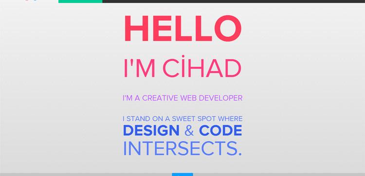 Portfolio Cihad