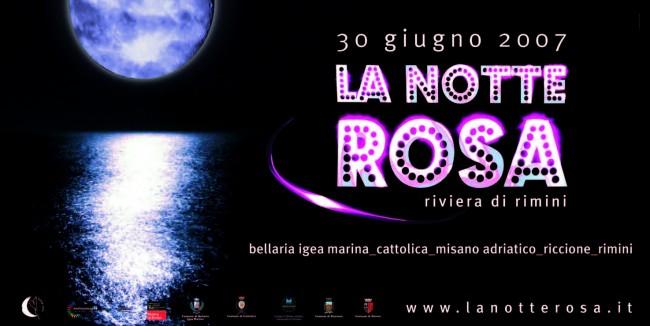 Manifesto Notte Rosa 2007
