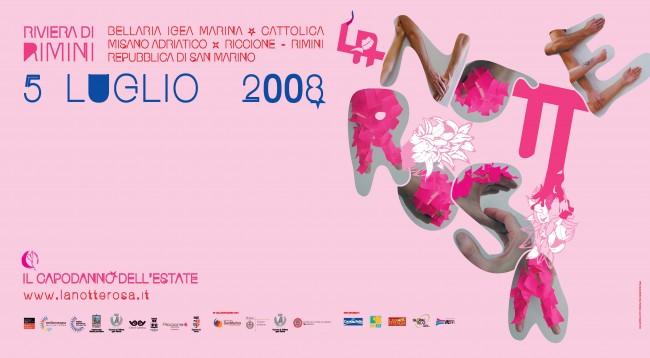 Manifesto Notte Rosa 2008
