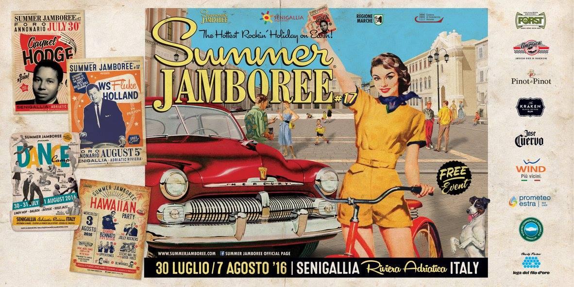 Summer Jamboree locandina 2016