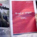 "Campagna pubblicitaria Norwegian ""Brad è single"""