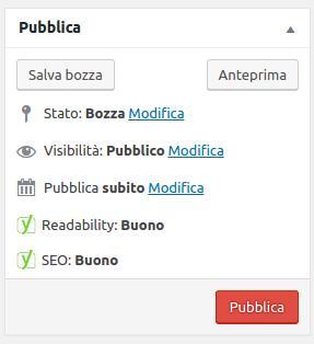 Tutorial WordPress - Pubblichiamo!