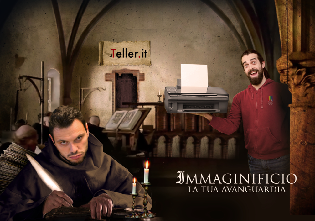 The Teller for Immaginificio Rimini