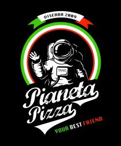 Restyle del logo di Pianeta Pizza