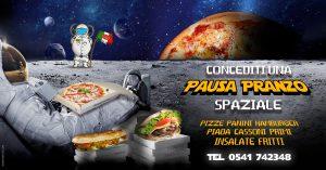 La pausa Pranzo spaziale da Pianeta Pizza