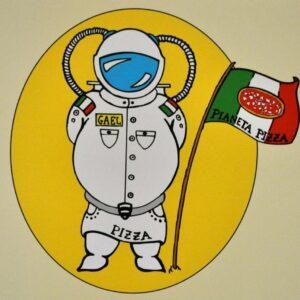 Logo originale di Pianeta Pizza