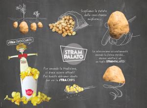 Le chips di Strampalato di Rimini