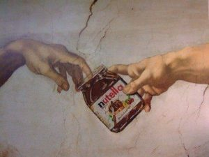 Guerrilla Marketing by Nutella