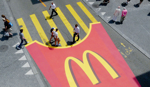 Guerrilla marketing by mcdonald