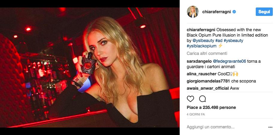 Chiara Ferragni fashion blogger and influencer