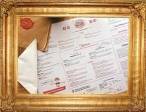 StraMenu e StraBaby - Tovagliette su carta alimentare