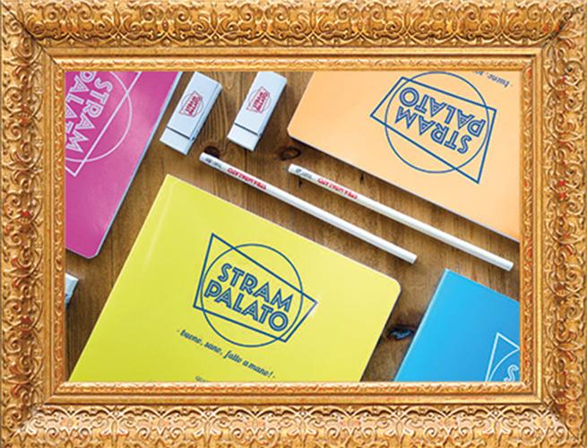 Merchandising scuola Strampalato