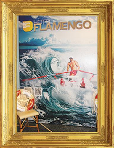 Postazione Selfie - Hotel Flamengo Riccione
