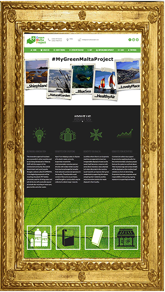 Sito web - Green Malta Project