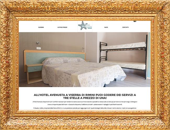 Sito Wordpress Hotel Avenusta