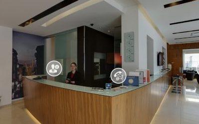 Siti per hotel: si accetta creatività - L'Hotel Card International è un business hotel di altissimo livello, situato a Rimini in una posizione strategica tra il centro storico e la stazione FFSS di Rimini.