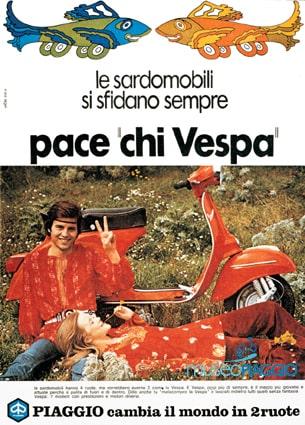 Pace chi Vespa - Slogan Piaggio
