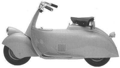 Il Paperino, prototipo di motovettura della Piaggio