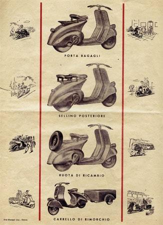 Comunicazione Piaggio - anni 40