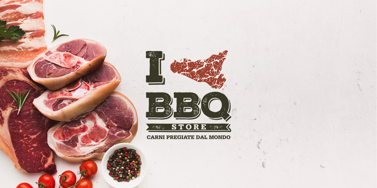 I love BBQ Store - Brand Identity